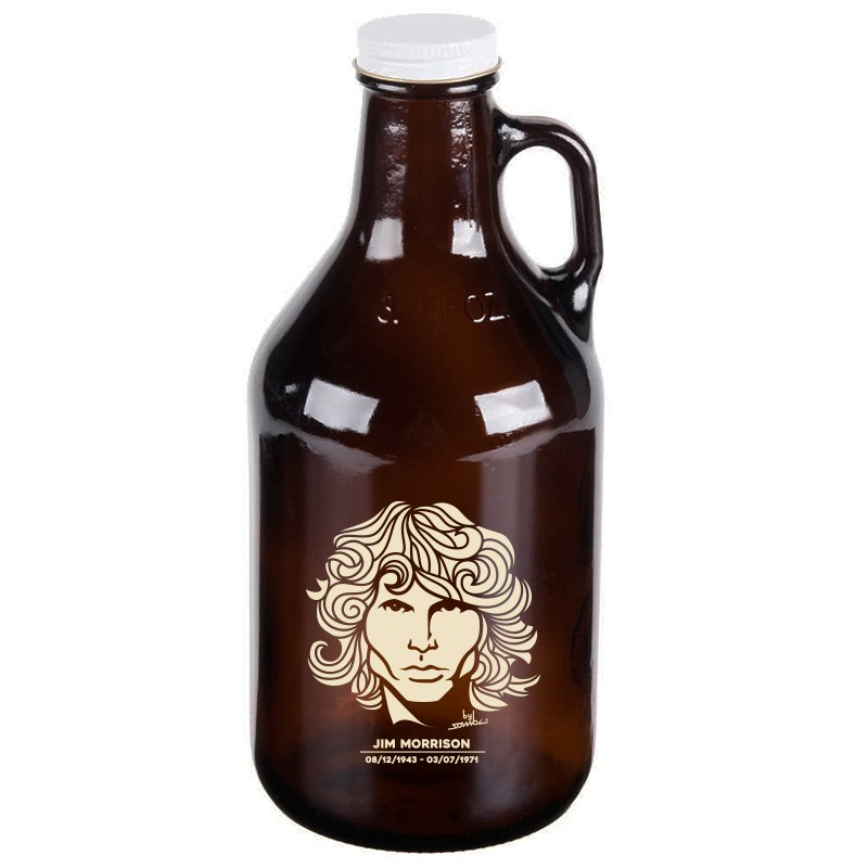 Growler Americano 0,95l - Coleção Twenty Seven's - Jim Morrison