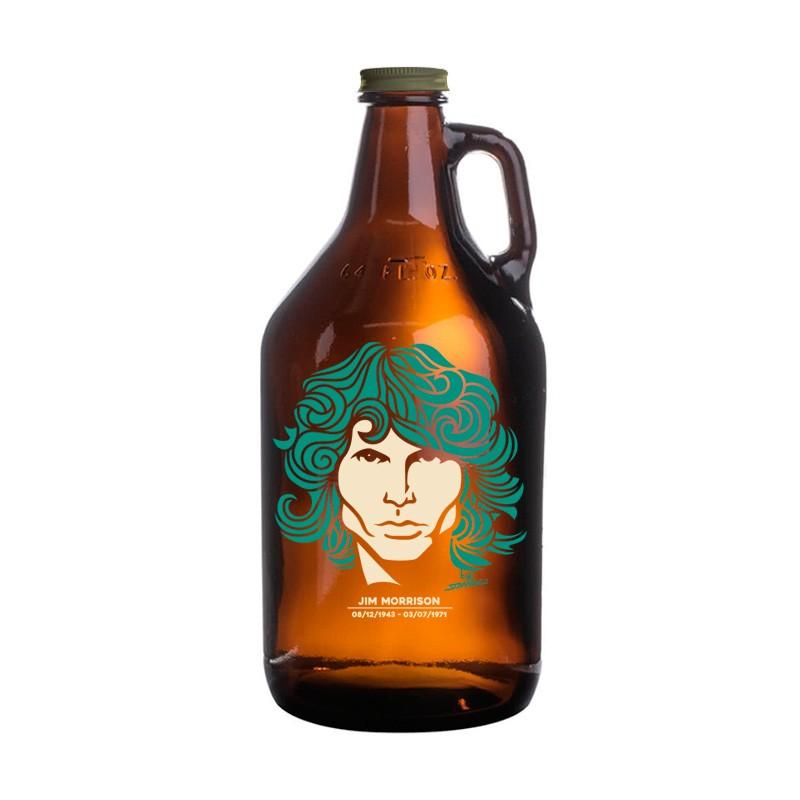 Growler Americano 1,89l - Coleção Twenty Seven's - Jim Morrison