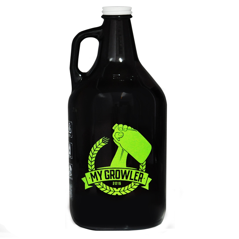Growler Americano 1,89l My Growler - Verde