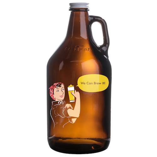Growler Padrão Americano 1,89l - We Can Brew It