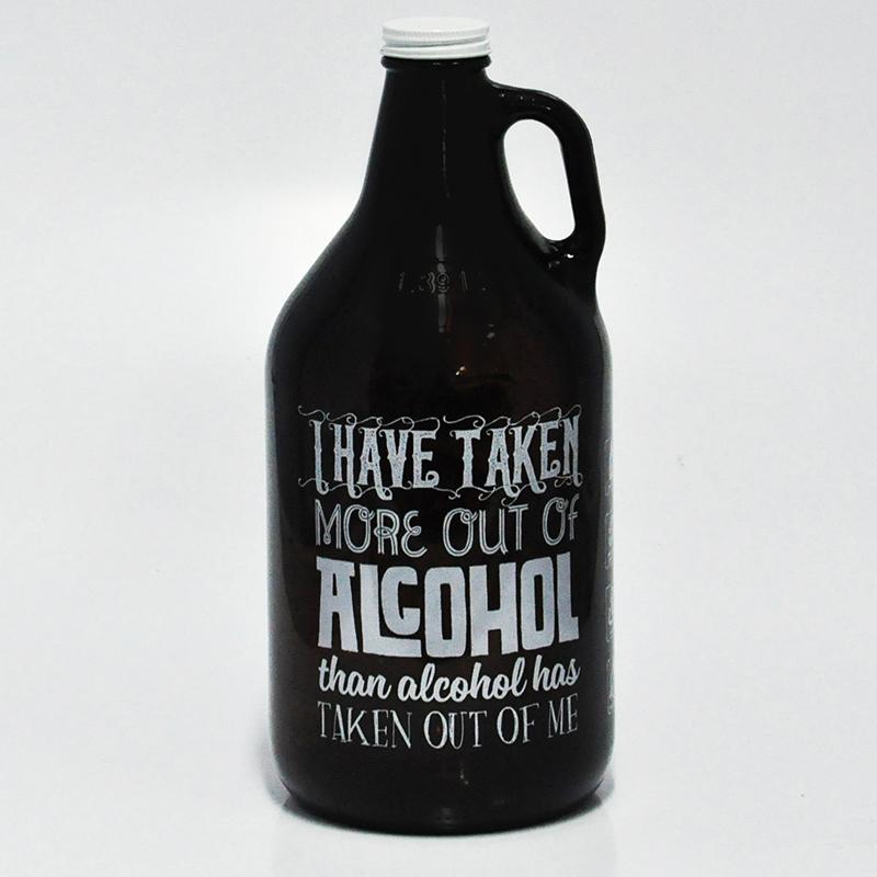 Growler Americano 1,89l - Coleção Pensadores da Cerveja - Winston Churchill