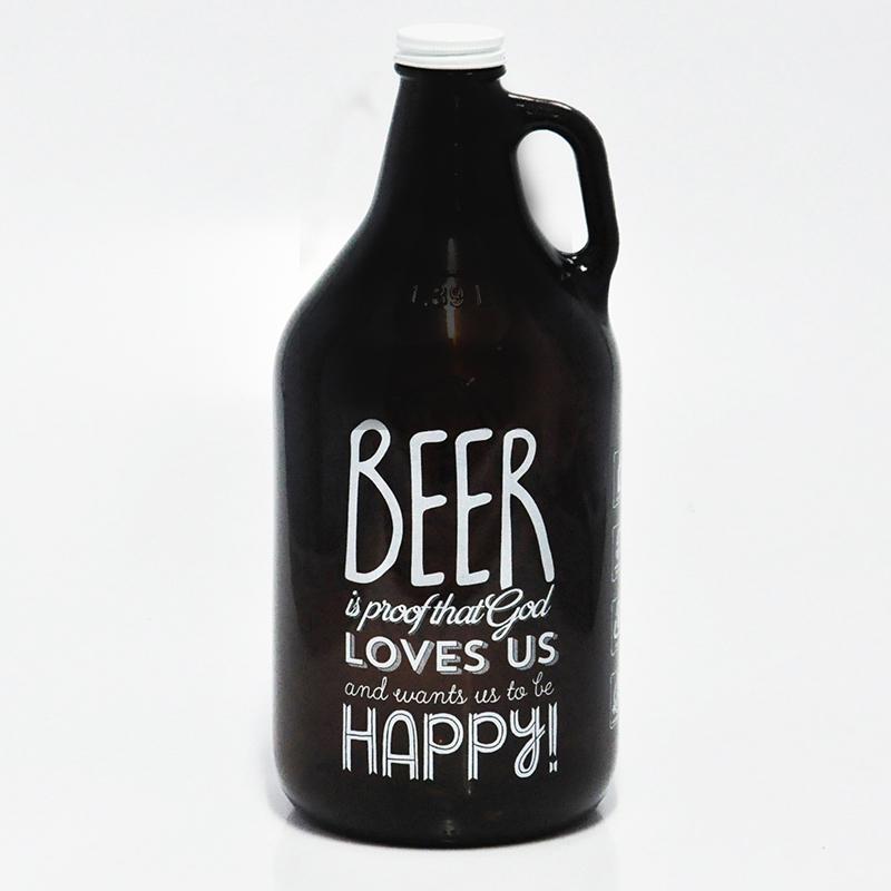 Growler Americano 1,89l - Coleção Pensadores da Cerveja - Benjamin Franklin