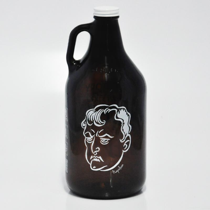 Growler Americano 1,89l - Coleção Pensadores da Cerveja - Napoleão Bonaparte