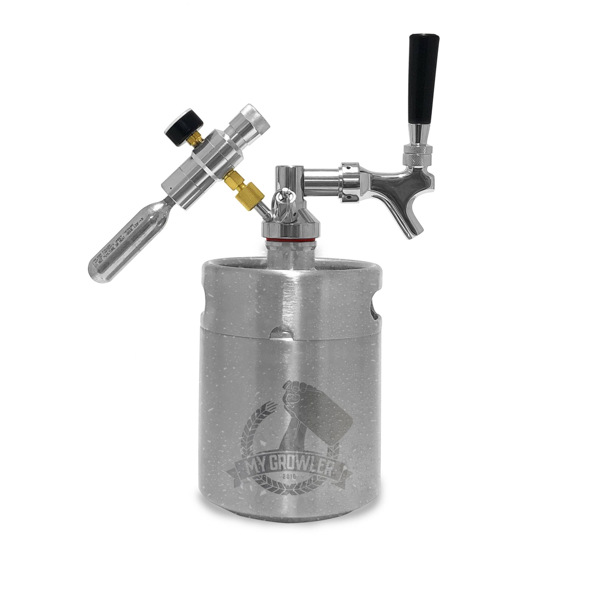 Kit My Keg Growler Inox 2L com Americana Standard