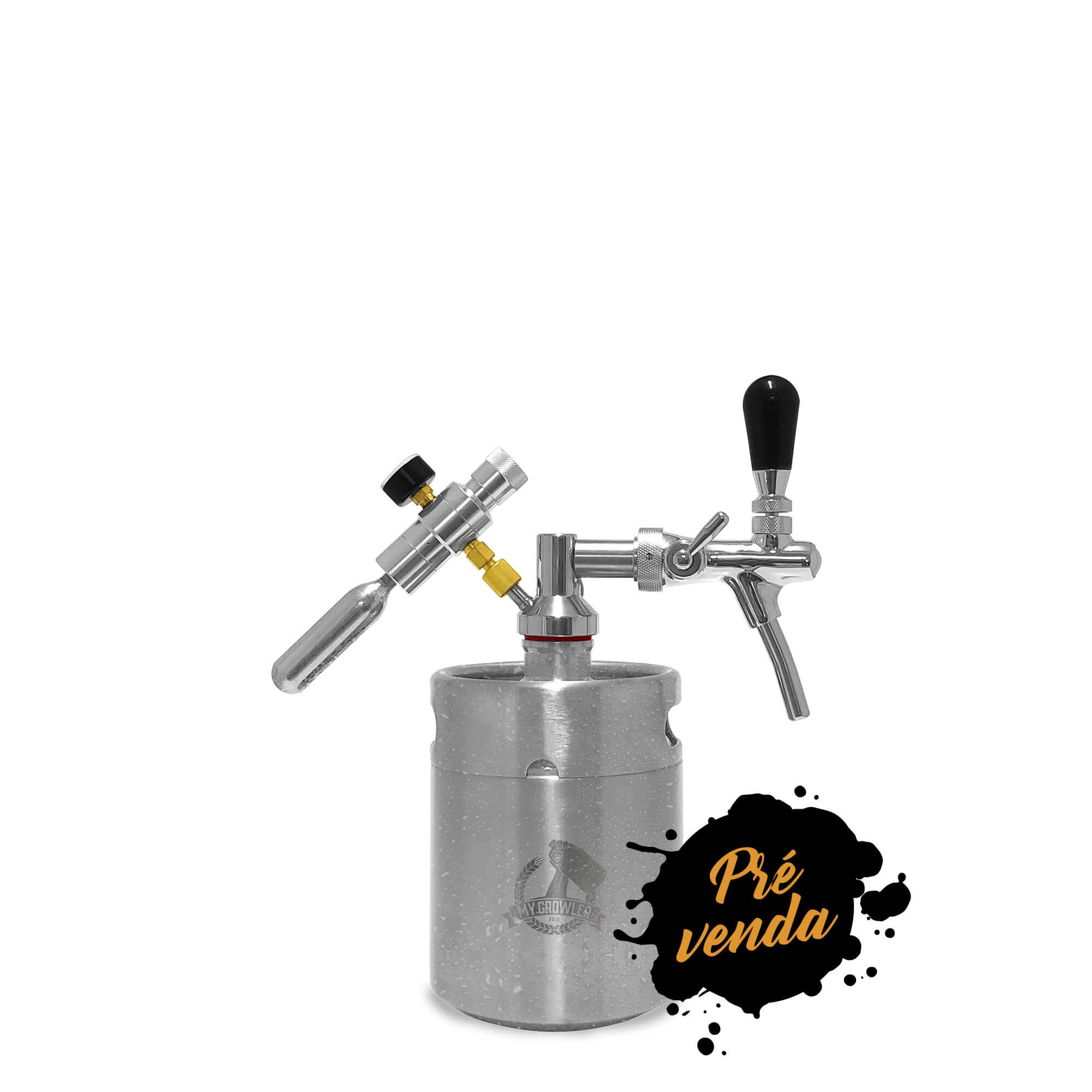 Kit My Keg 2L com Torneira Italiana Standard