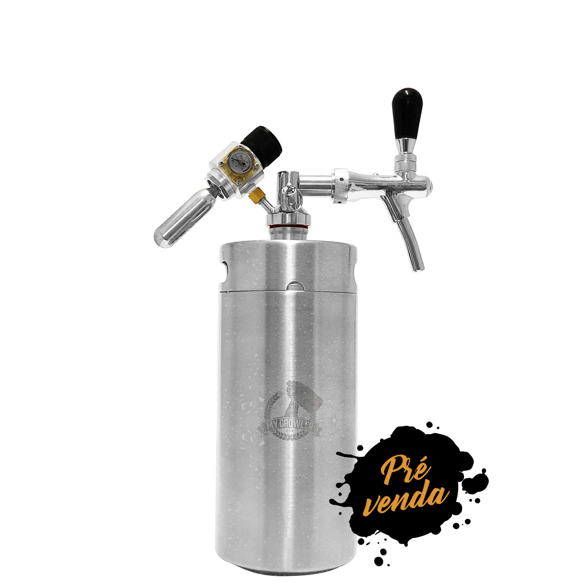 Kit My Keg 3,8L com Torneira Italiana Premium