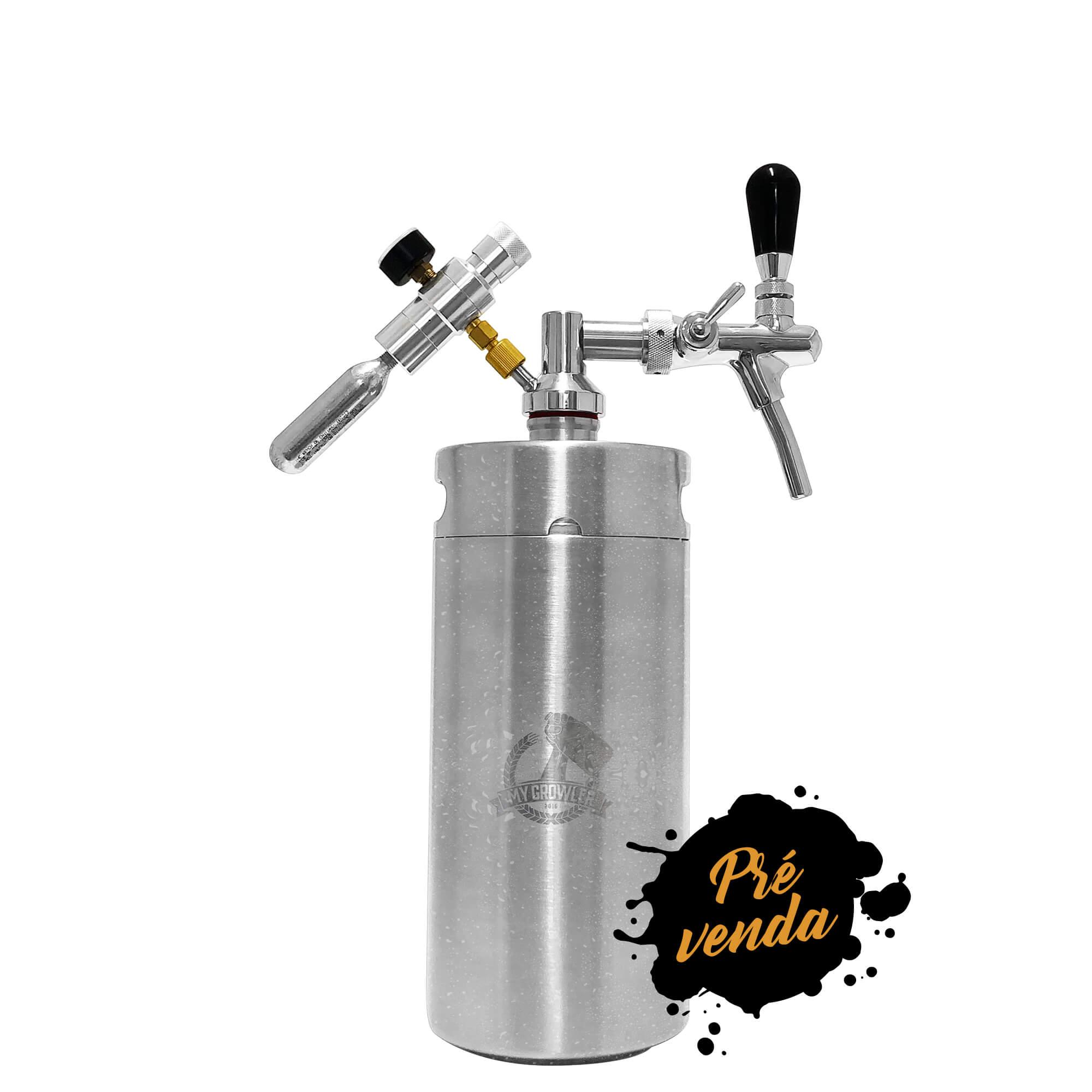 Kit My Keg 3,8L com Torneira Italiana Standard