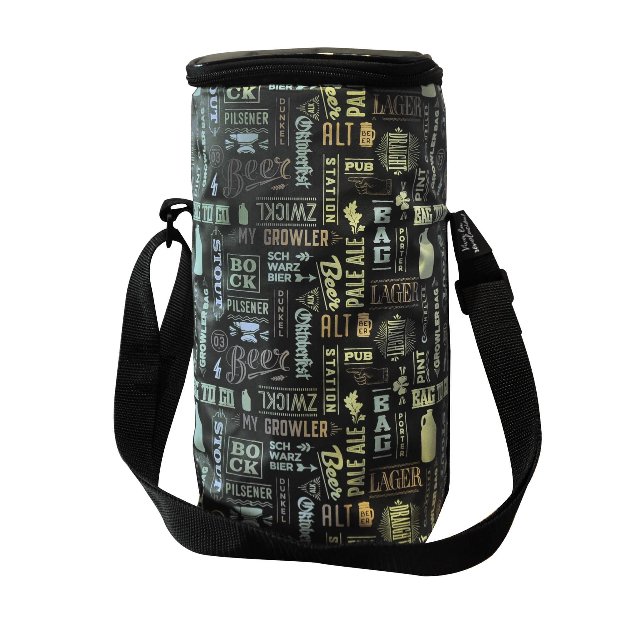 Kit My Keg #3 - Mini Keg, Mini Barril 3,8L My Growler + Growler Bag To Go para 1 growler