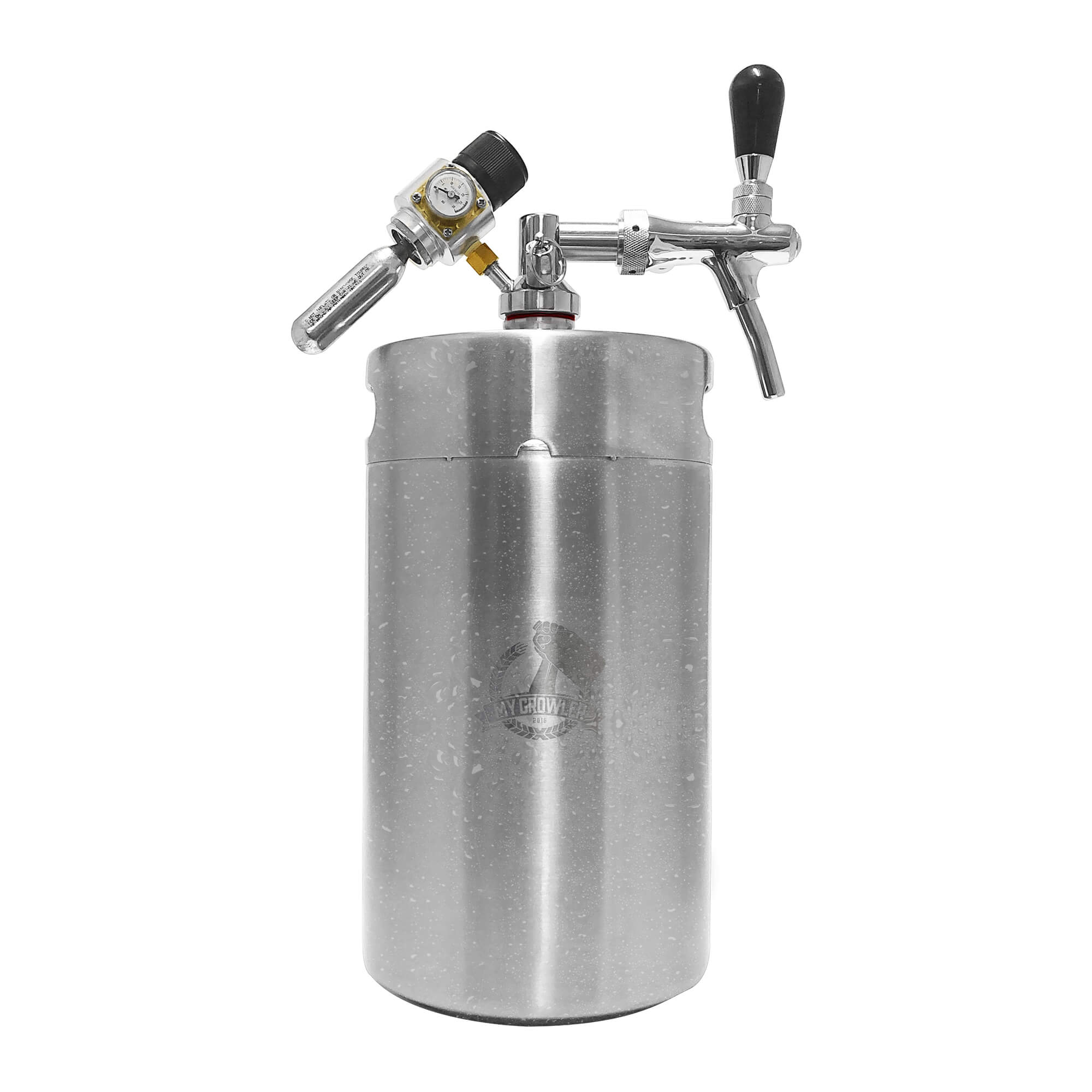 Kit My Keg, Growler Inox 8L com torneira italiana Premium