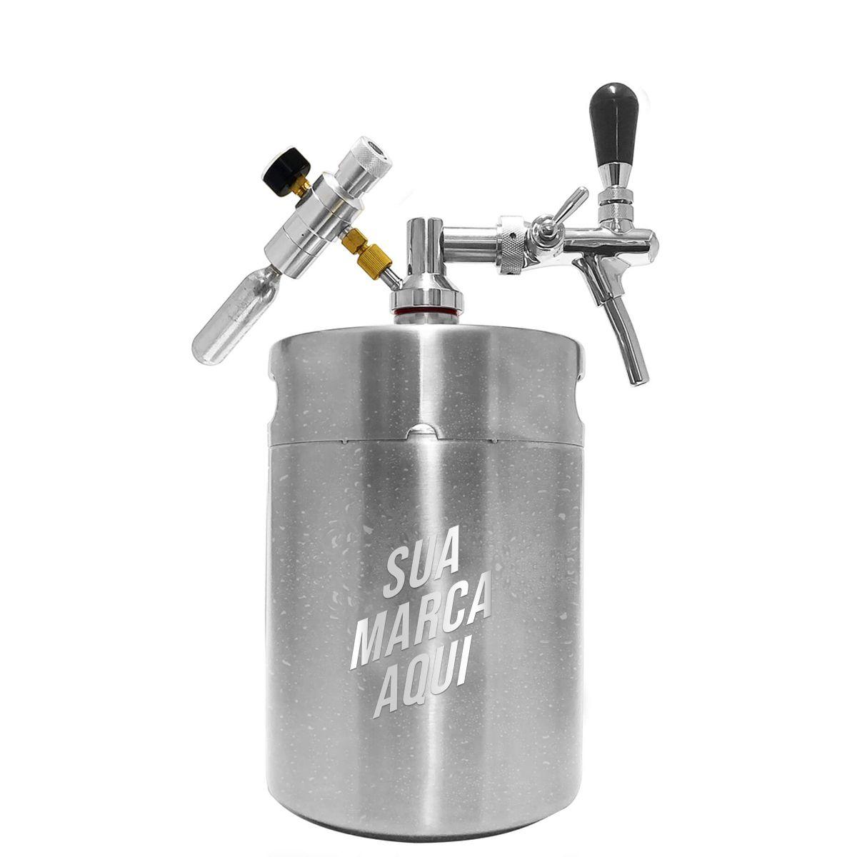 Kit my keg personalizado em laser