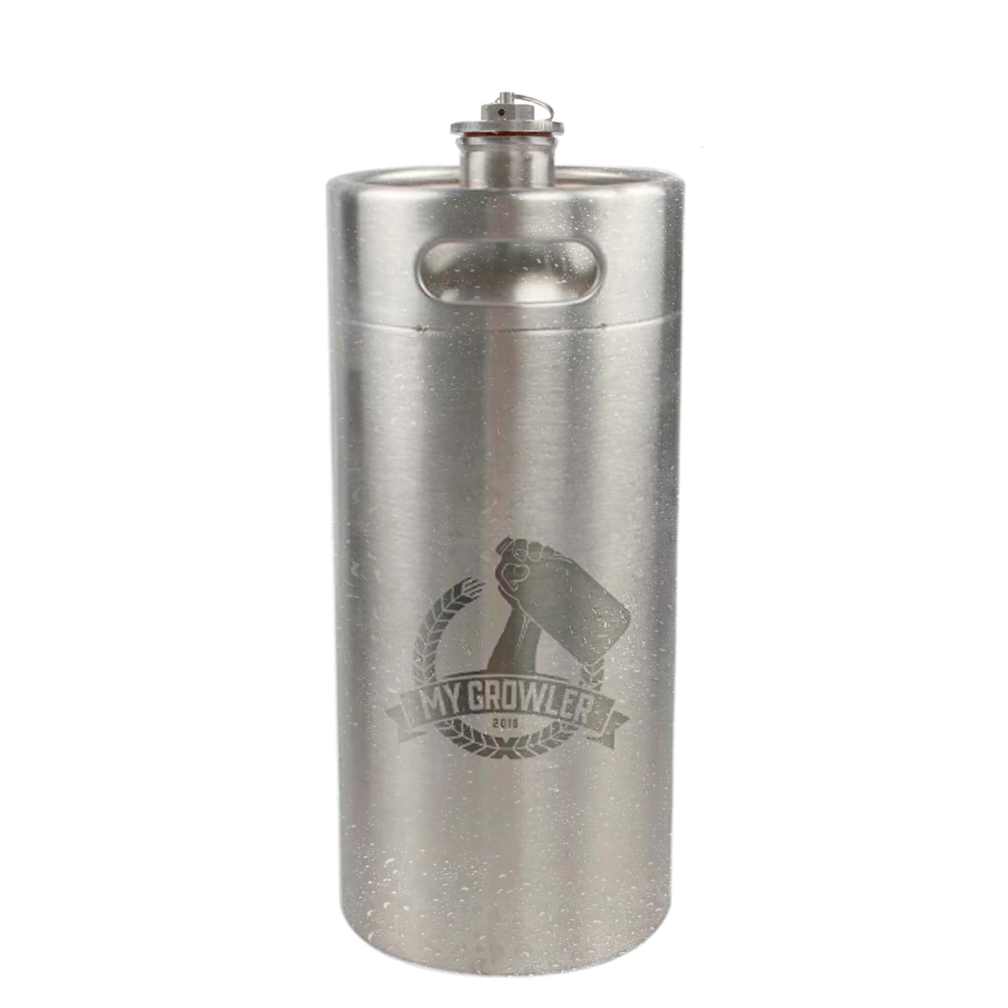 Mini Keg de aço inox 4L My Growler
