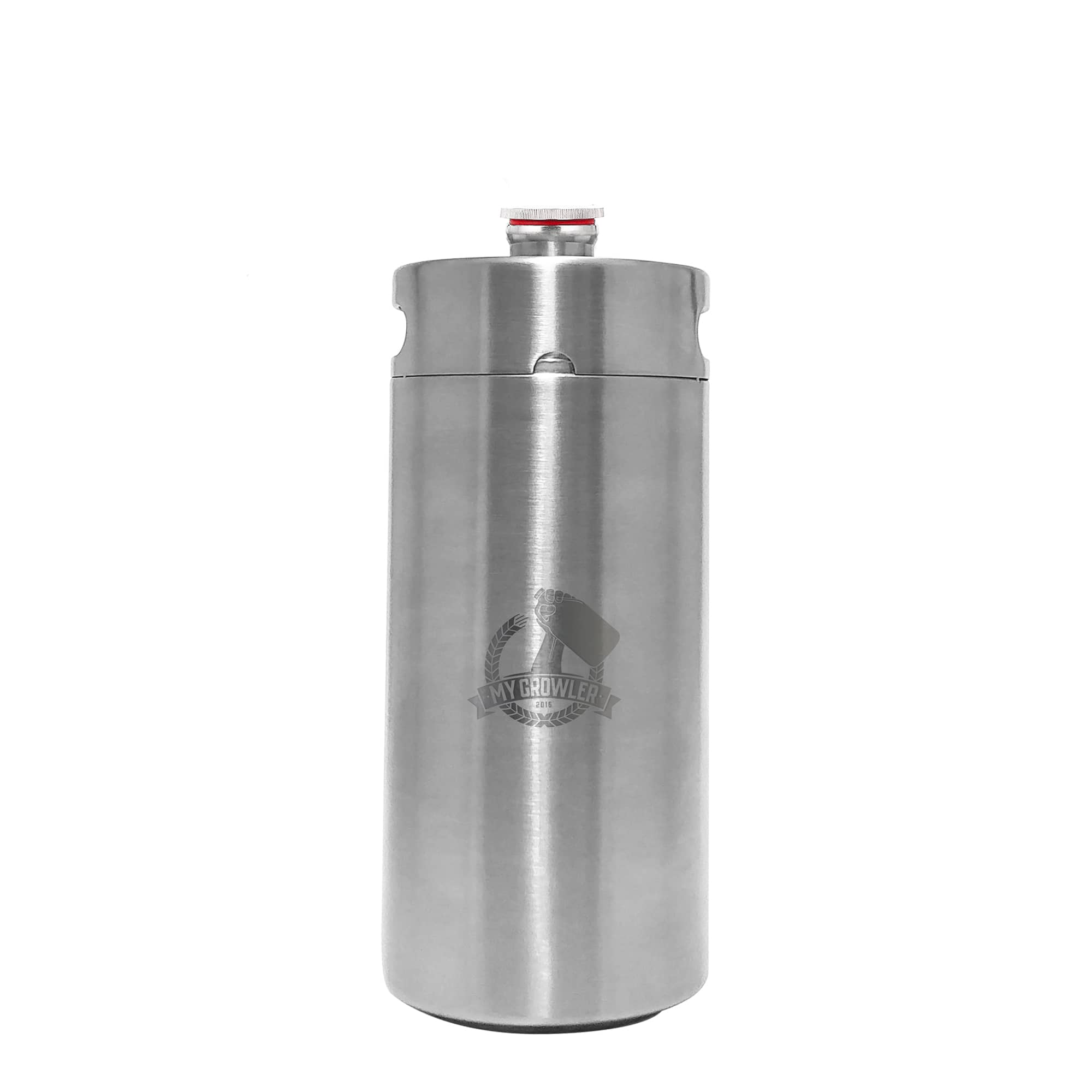 Mini Keg, Mini Barril de aço inox 4L My Growler