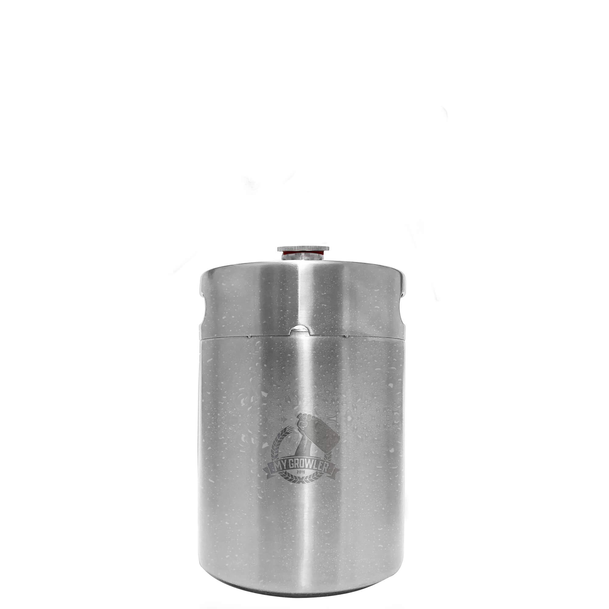 Mini Keg de aço inox 5L My Growler