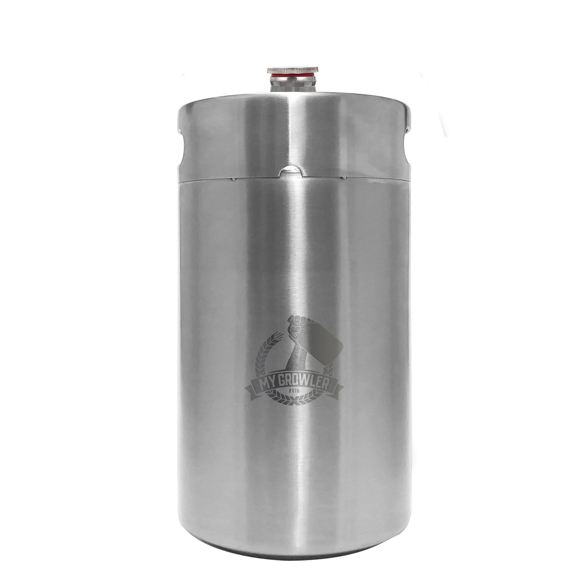 Mini Keg, Mini Barril de aço inox 8L My Growler