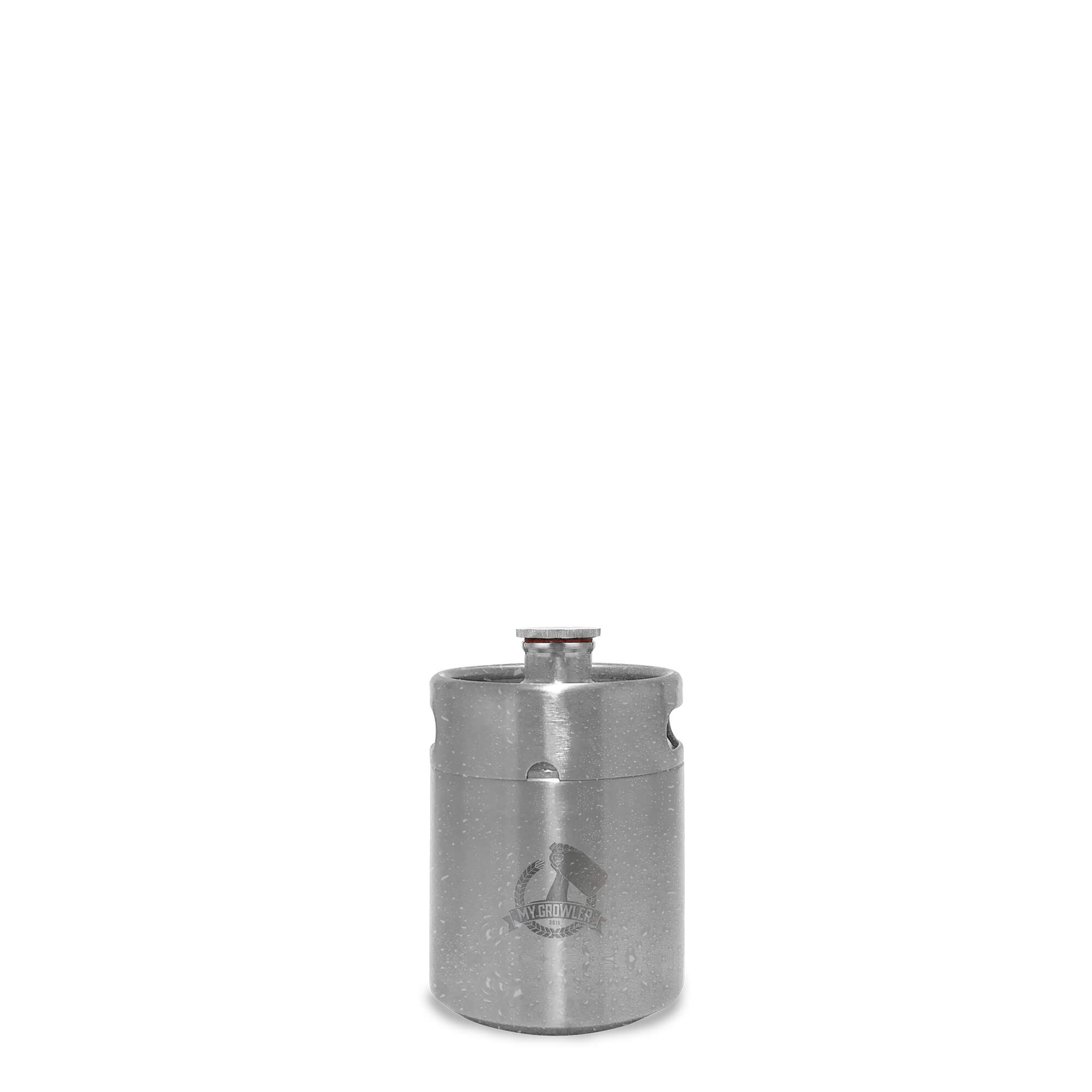 Mini Keg, Mini Barril de aço inox 2L My Growler