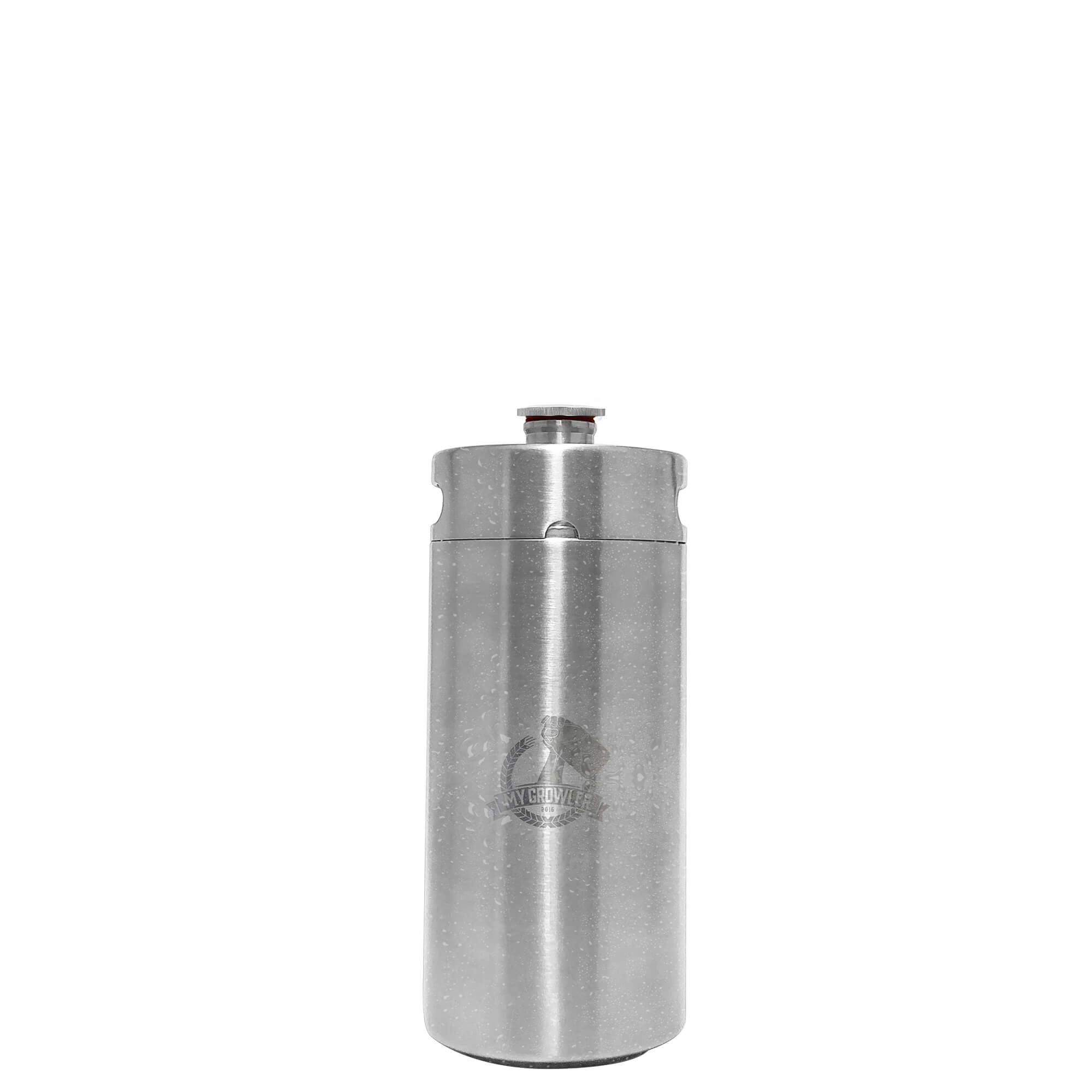 Mini Keg, Mini Barril de aço inox 3,8L My Growler