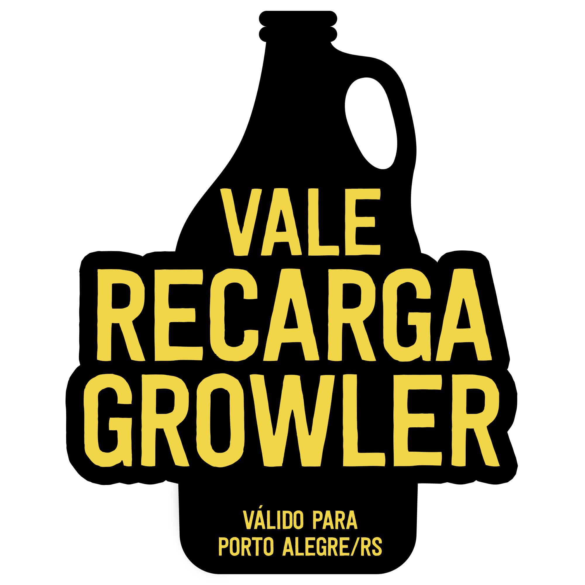 Recarga de Growler 1l - Porto Alegre/RS -