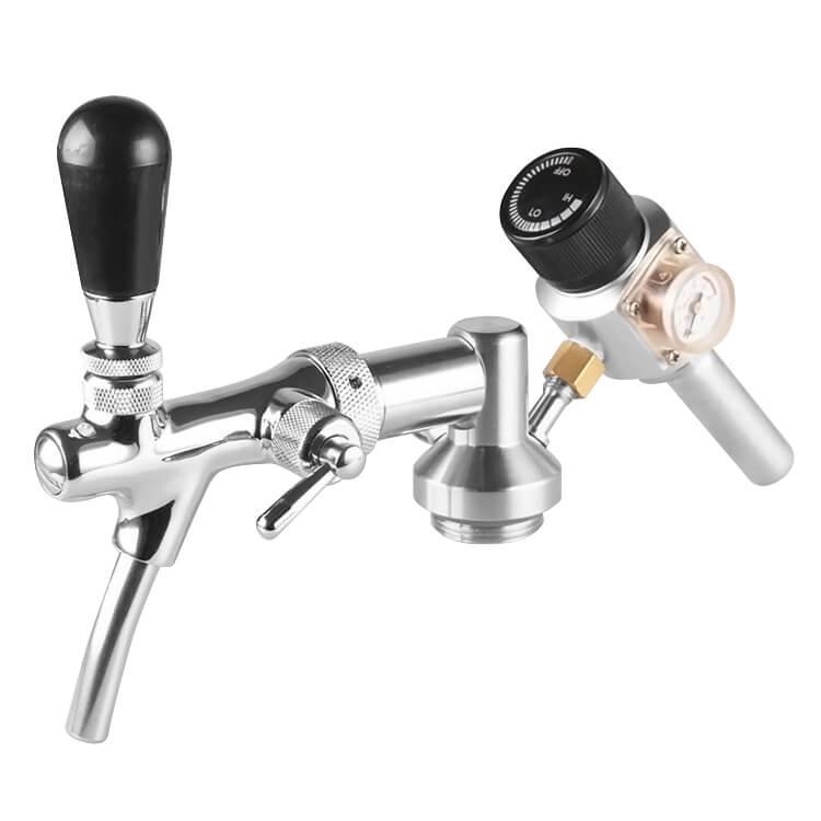 Sistema de Extração para Mini Keg com torneira Italiana e Regulador de Pressão tipo II