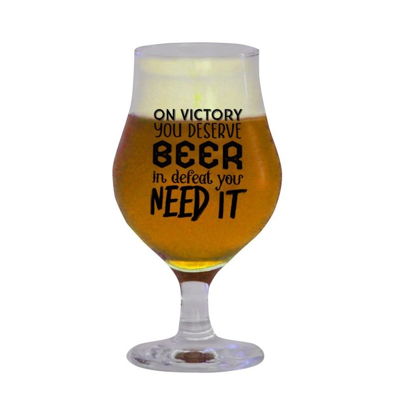 Taça Dublin 400 ml - Coleção Pensadores da Cerveja - Napoleão