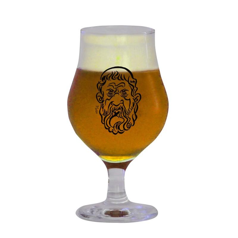 Taça Dublin 400 ml - Coleção Pensadores da Cerveja - Platão