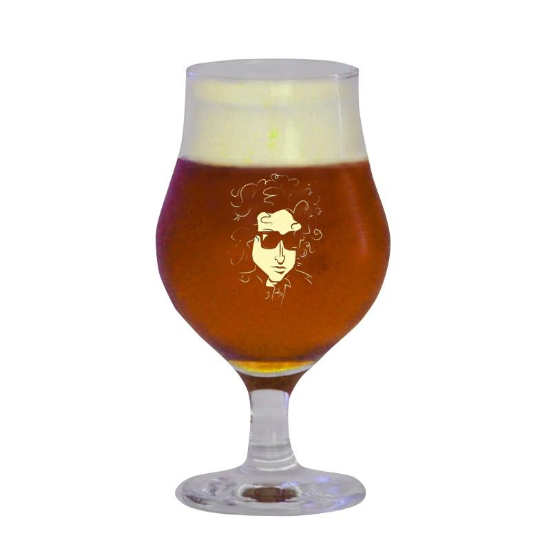 Taça Dublin 400 ml - Coleção Rock'n'Growler - Bob Dylan