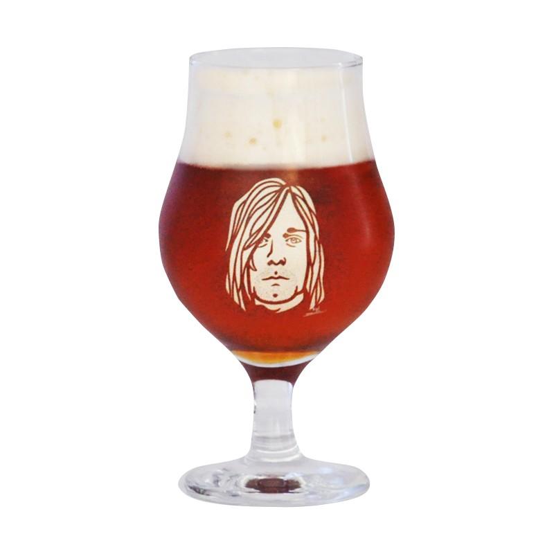 Taça Dublin 400ml - Coleção Twenty Seven's - Kurt Cobain