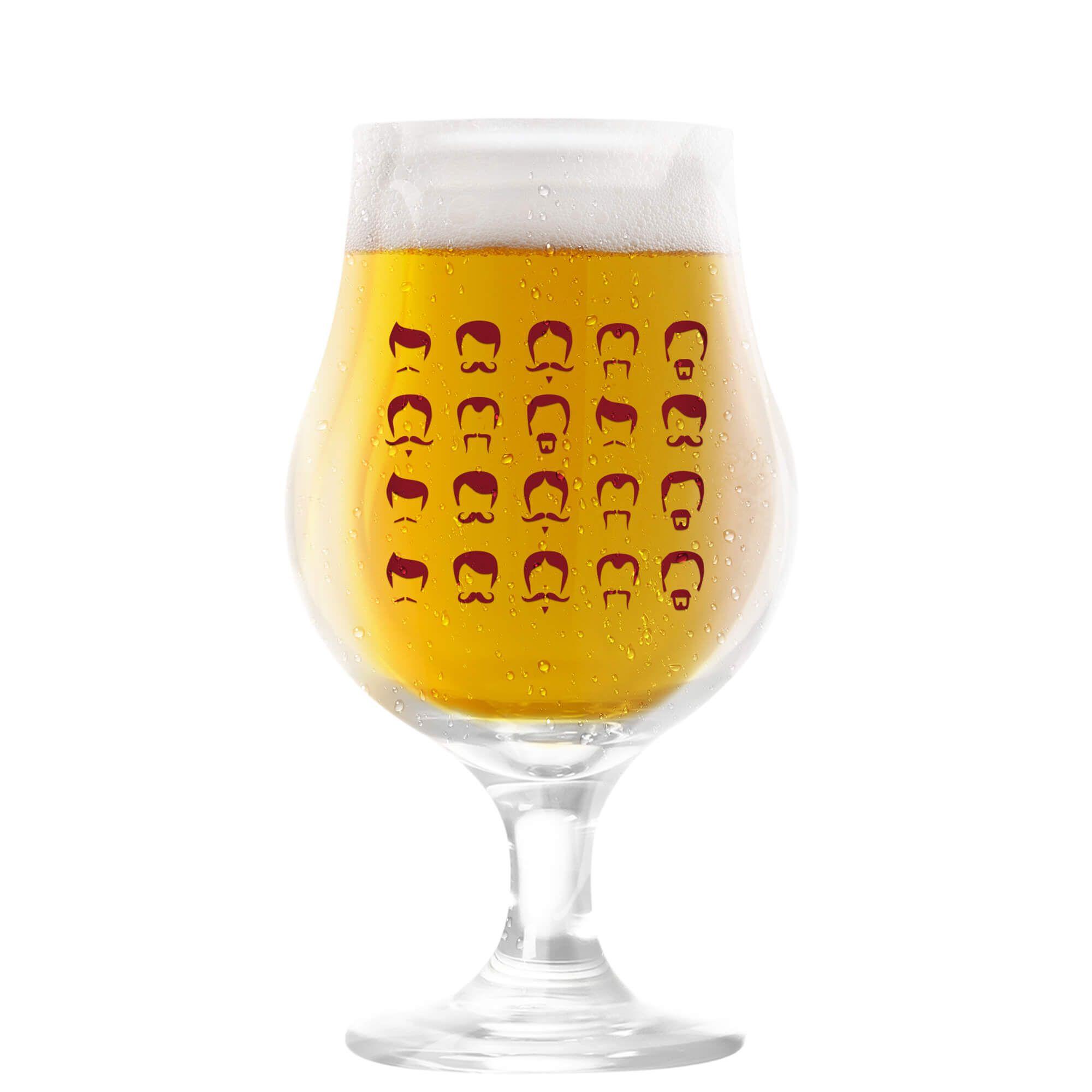 Taça Dublin 400ml - Coleção Cervejeiros - Bigodes