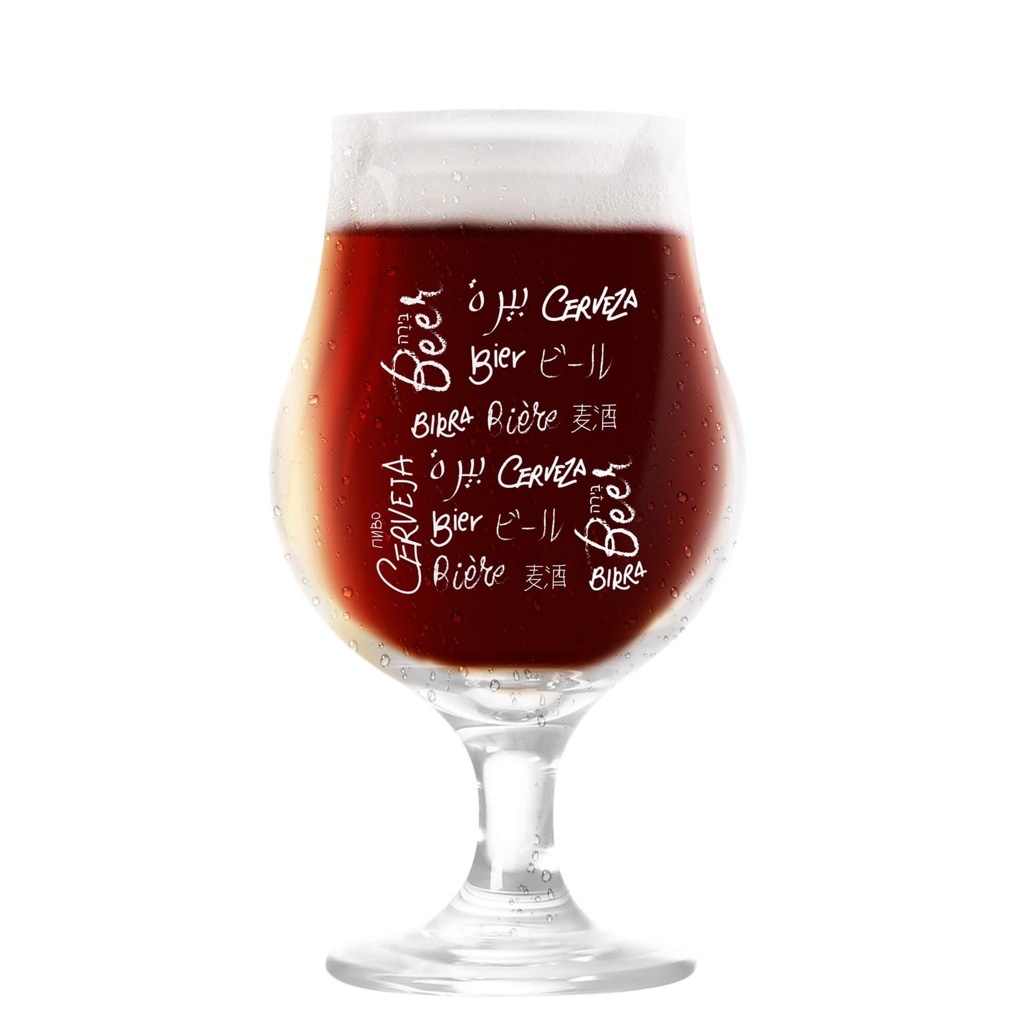 Taça Dublin 400ml - Coleção Cervejeiros - Idiomas