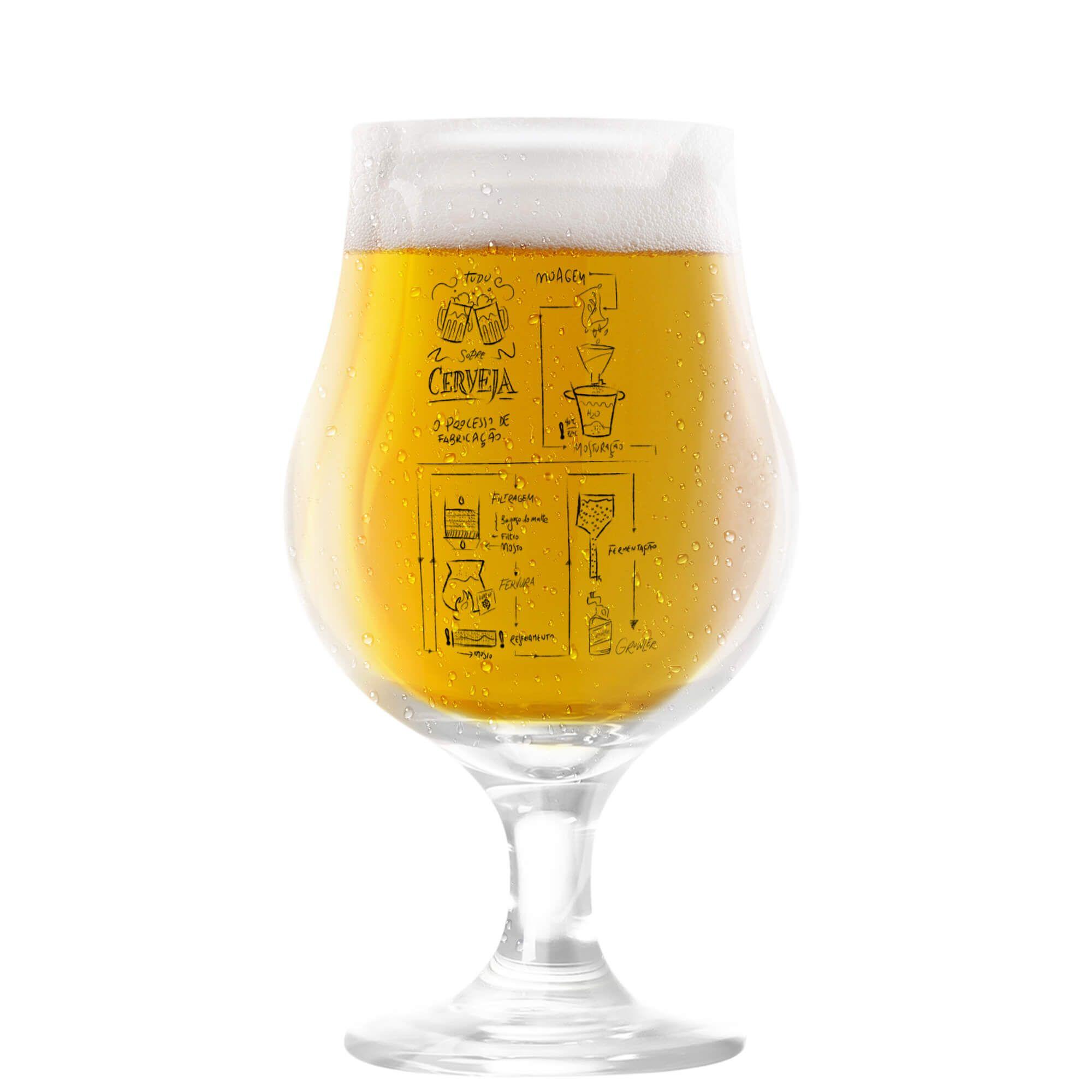 Taça Dublin 400ml - Coleção Cervejeiros - Processo Cervejeiro
