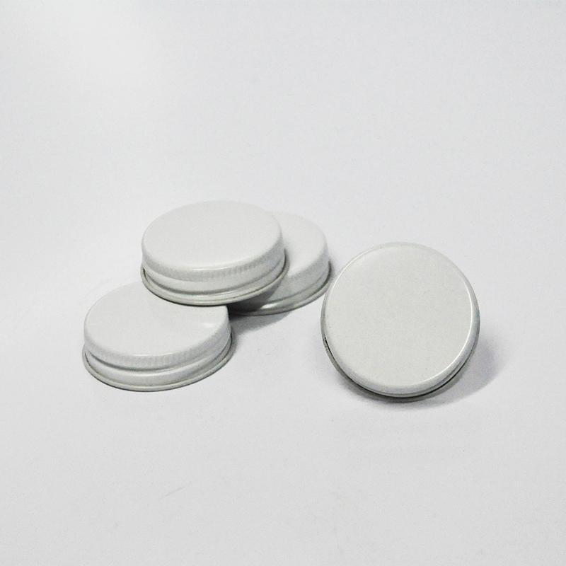 Pack 4 tampas metálicas