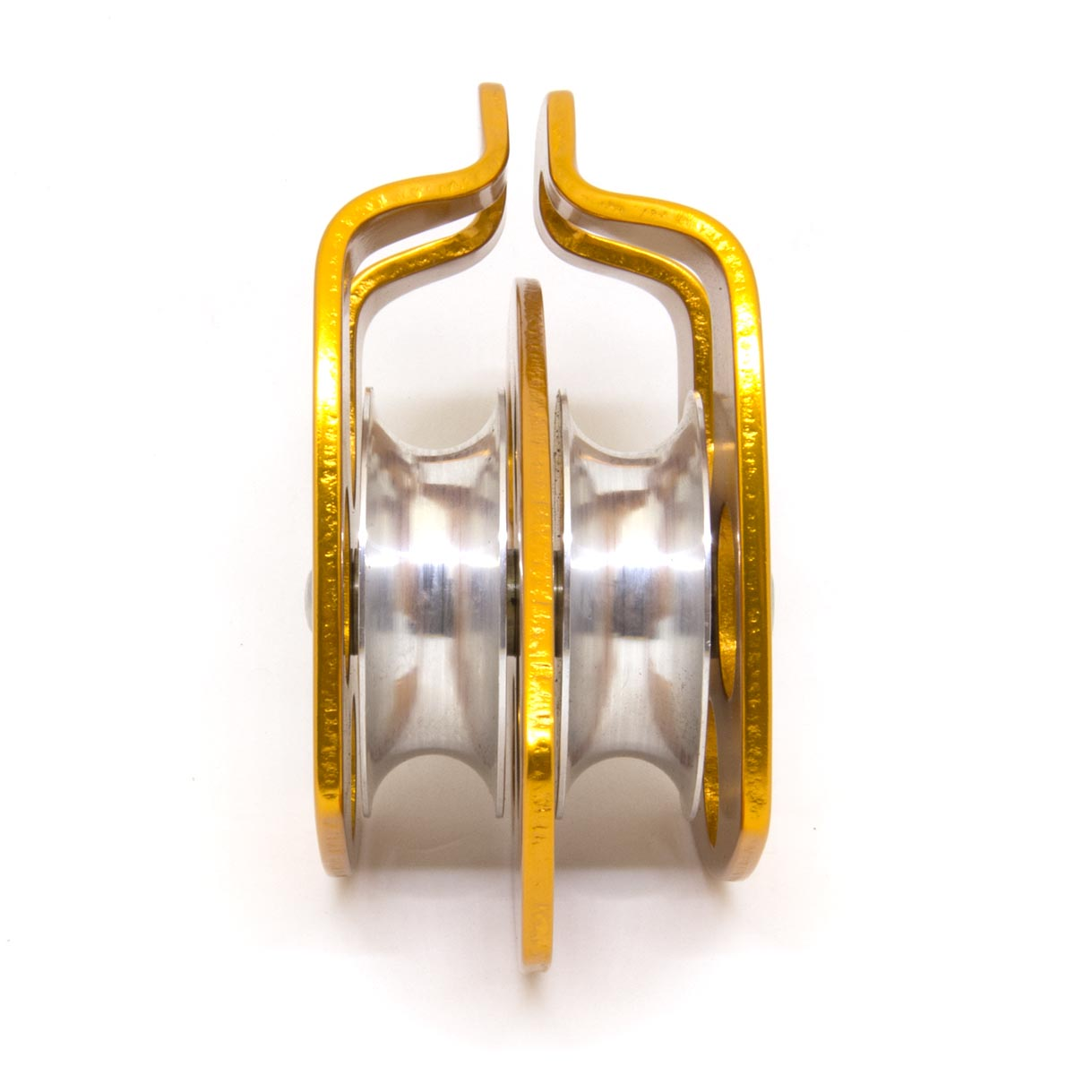 Polia Dupla Oscilante Alumínio 30KN ? USCLIMB
