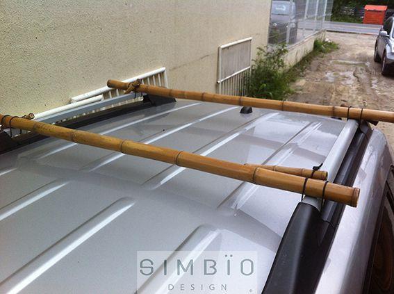 MOBïLE Rack de bambu
