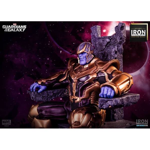 Iron Studios Thanos 1/10 Art Scale EXclusive Guardiões Da Galáxia  - Movie Freaks Collectibles