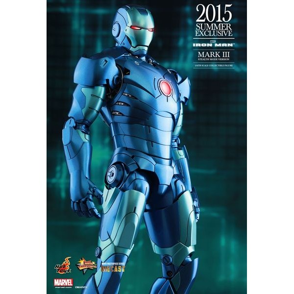 Hot Toys Homem de Ferro Mark III Stealth Mode Version  - Movie Freaks Collectibles