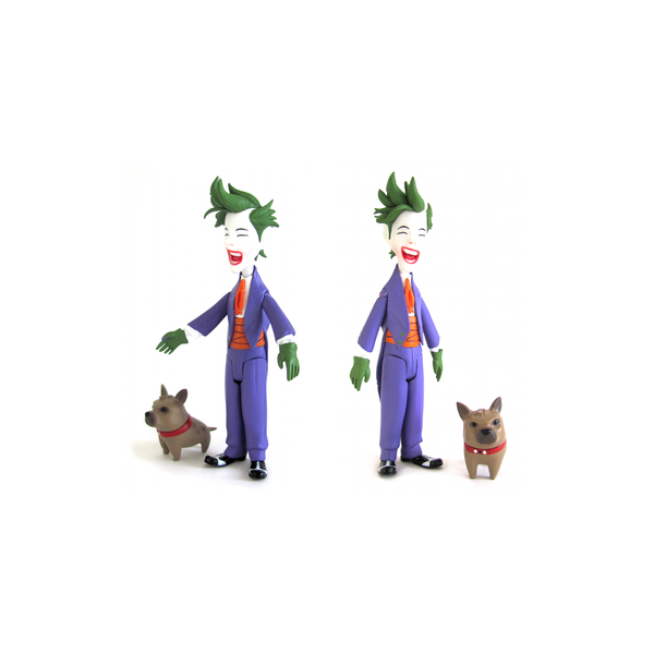 Lil Gotham: Batman + Robin + Joker / Coringa Mini Action Figures DC Collectibles  - Movie Freaks Collectibles