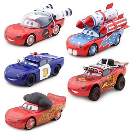 Disney Store Carros Relampago McQueen-O-Rama Die Cast Set  - Movie Freaks Collectibles