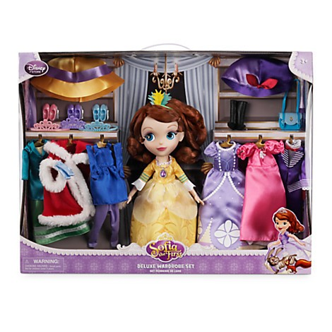 Sofia the First Deluxe Wardrobe Set - Armario completo  - Movie Freaks Collectibles