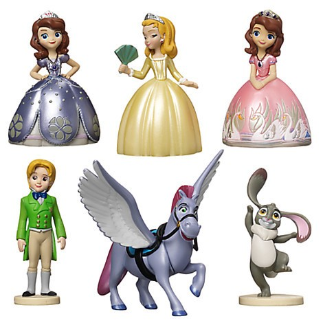 Disney Store Sofia the First Figure Play Set - 3  - Movie Freaks Collectibles