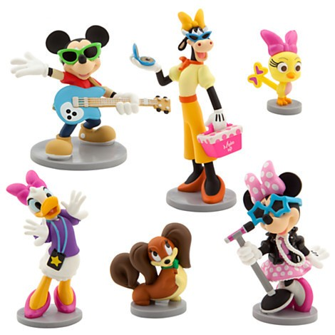 Disney Store Minnie Mouse Rock Star Figure Play Set  - Movie Freaks Collectibles