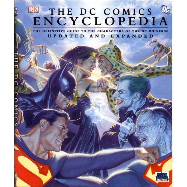 Enciclopedia Dc Comics Hardcover Guia Completo Da Dc  - Movie Freaks Collectibles