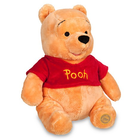 Disney Store Ursinho Winnie the Pooh Medio 35cm  - Movie Freaks Collectibles
