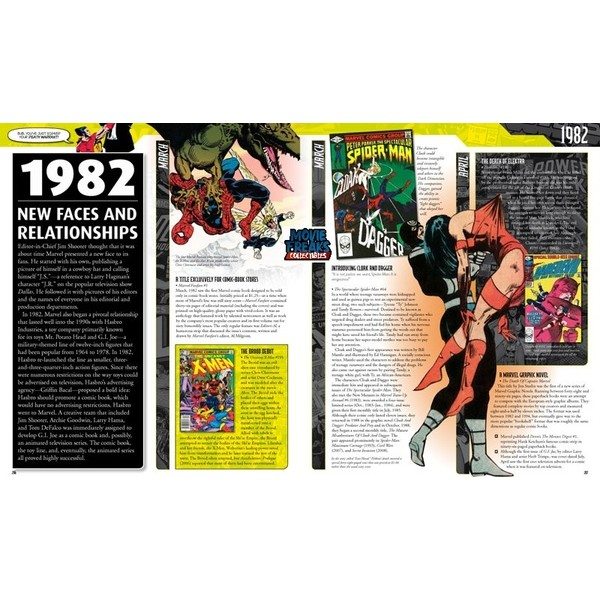 Crônica Marvel / Marvel Chronicles Hardcover  - Movie Freaks Collectibles