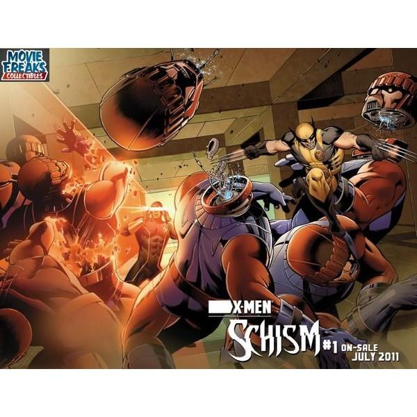 X-men: Schism Hardcover Deluxe  - Movie Freaks Collectibles