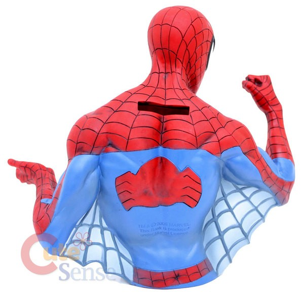 Homem Aranha Busto tipo Cofre  - Movie Freaks Collectibles