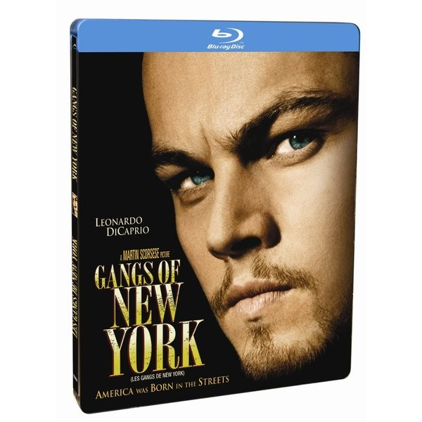 Gangues De Nova York Blu-ray Steelbook  - Movie Freaks Collectibles