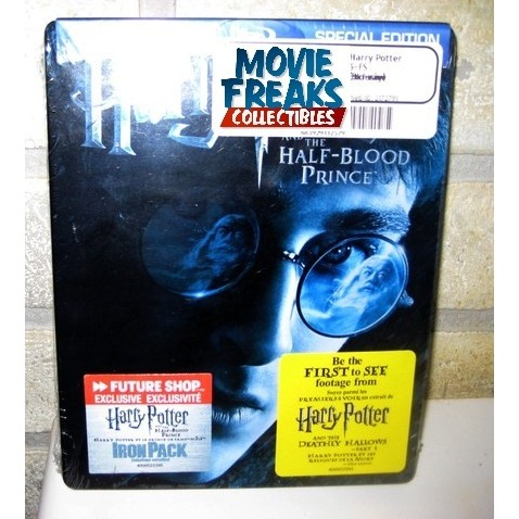 Harry Potter E O Enigma Do Príncipe Blu-ray Ironpack  - Movie Freaks Collectibles