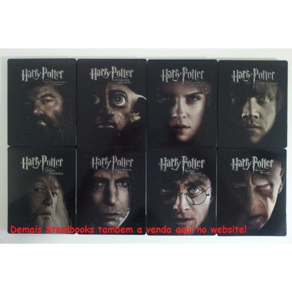 Harry Potter E A Pedra Filosofal Blu-ray Steelbook  - Movie Freaks Collectibles