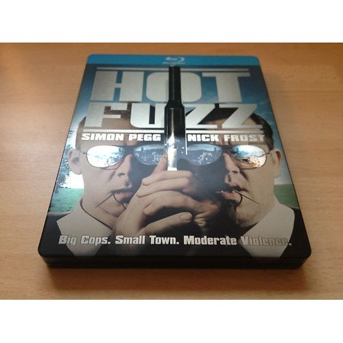 Chumbo Grosso - Hot Fuzz Blu-ray Steelbook  - Movie Freaks Collectibles