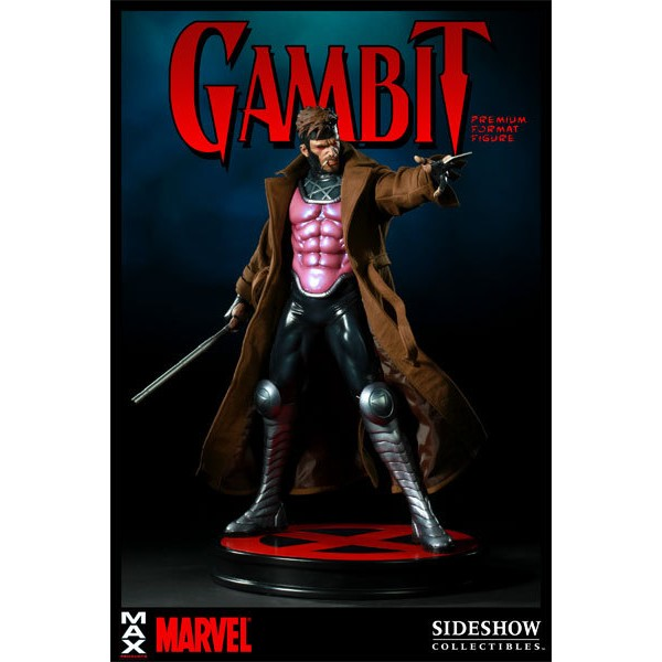 Sideshow Gambit Premium Format X-MEN  - Movie Freaks Collectibles