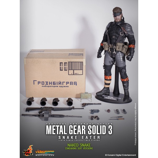 Hot Toys Metal Gear Solid 3  Naked Snake Sneaking Suit Version  - Movie Freaks Collectibles